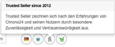 trusted Seller Beschreibung