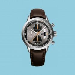 Freelancer Chronograph Titan Braunes Lederband