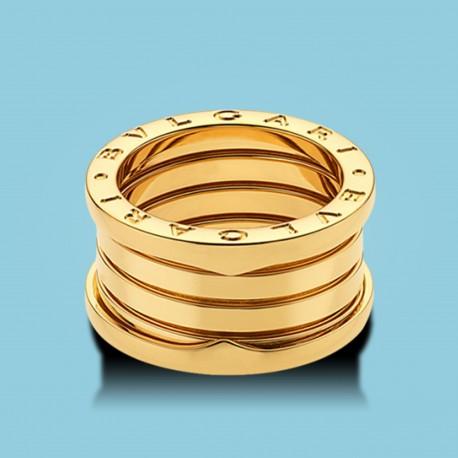 B.zero1 4-Band-Ring Gelbgold