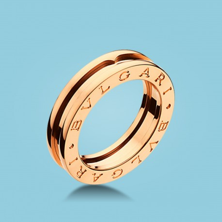 B.zero1 1-Band-Ring Roségold