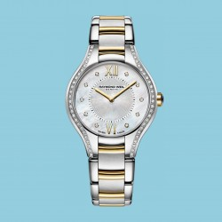 SPECIAL OFFER Noemia Steel Two-tone, 62 Diamonds, 27mm