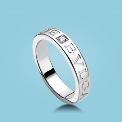 BVLGARI BVLGARI Diamant-Ring 18 Karat Weißgold