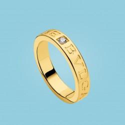 BVLGARI BVLGARI Diamond Ring Yellow Gold