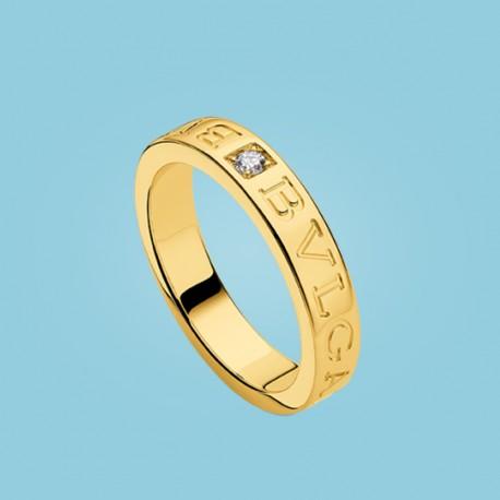 BVLGARI BVLGARI Diamant-Ring Gelbgold
