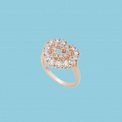 L'Heure du Diamant Herz Ring 18 Karat Roségold