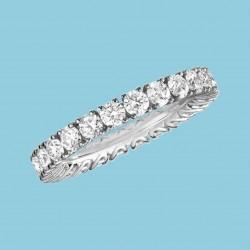 L'Heure du Diamant Ring 18 Karat Weißgold