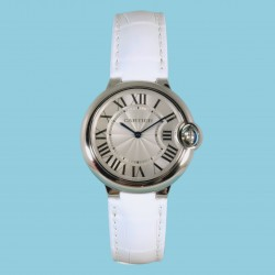 Ballon Bleu De Cartier 36mm Leder