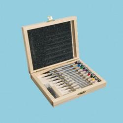 Schraubendreher Set Basic im Holzetui
