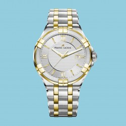 Maurice Lacroix AIKON roman gold Stahlband