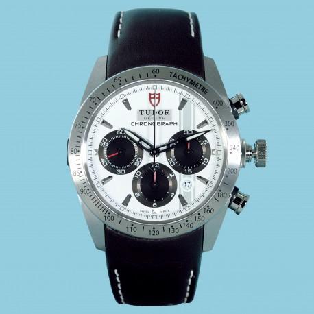 Fastrider Chronograph Weiß Leder