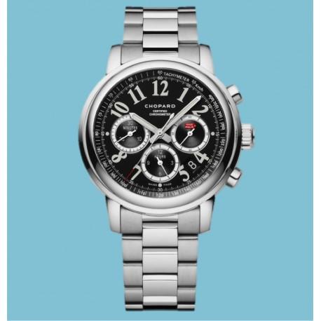 Chronograph Mille Miglia Stahl Schwarz