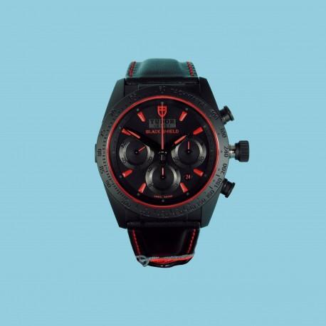 Fastrider Black Shield Rot Leder