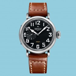 Pilot Type 20 Leder 40 mm