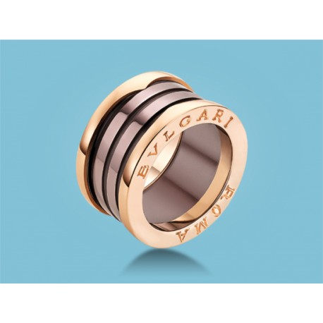 B.zero1 4-Band-Ring Roségold ROMA
