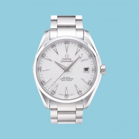 Aqua Terra Stahl 150M 41,5 mm weiß